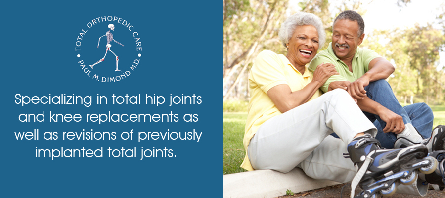 Specializing in total hip joints, and knee placements, as well as revisions odf previously implanted total joints