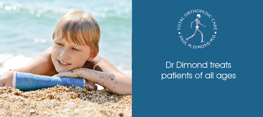 Dr Dimond treats patients of all ages